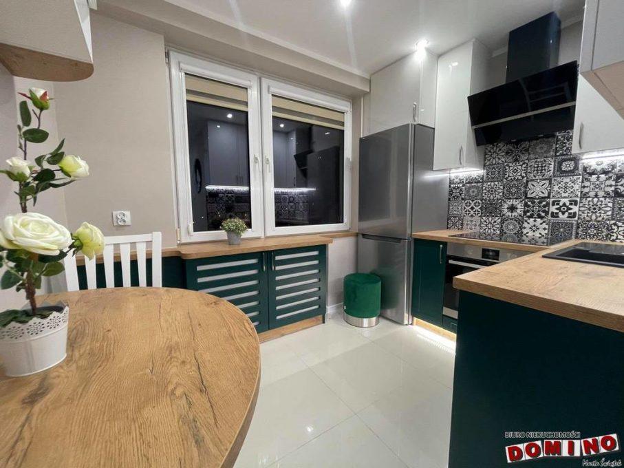Mieszkanie po remoncie generalnym, 3 pokoje, balkon