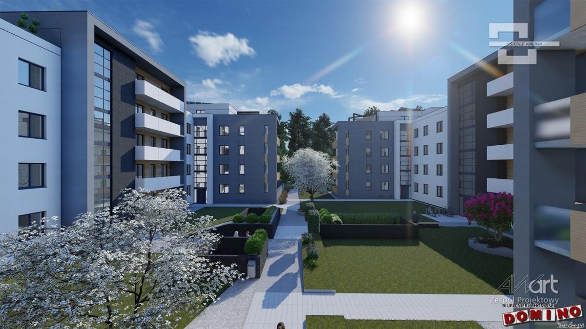 Apartament w stanie deweloperskim na osiedlu Kalina A.03