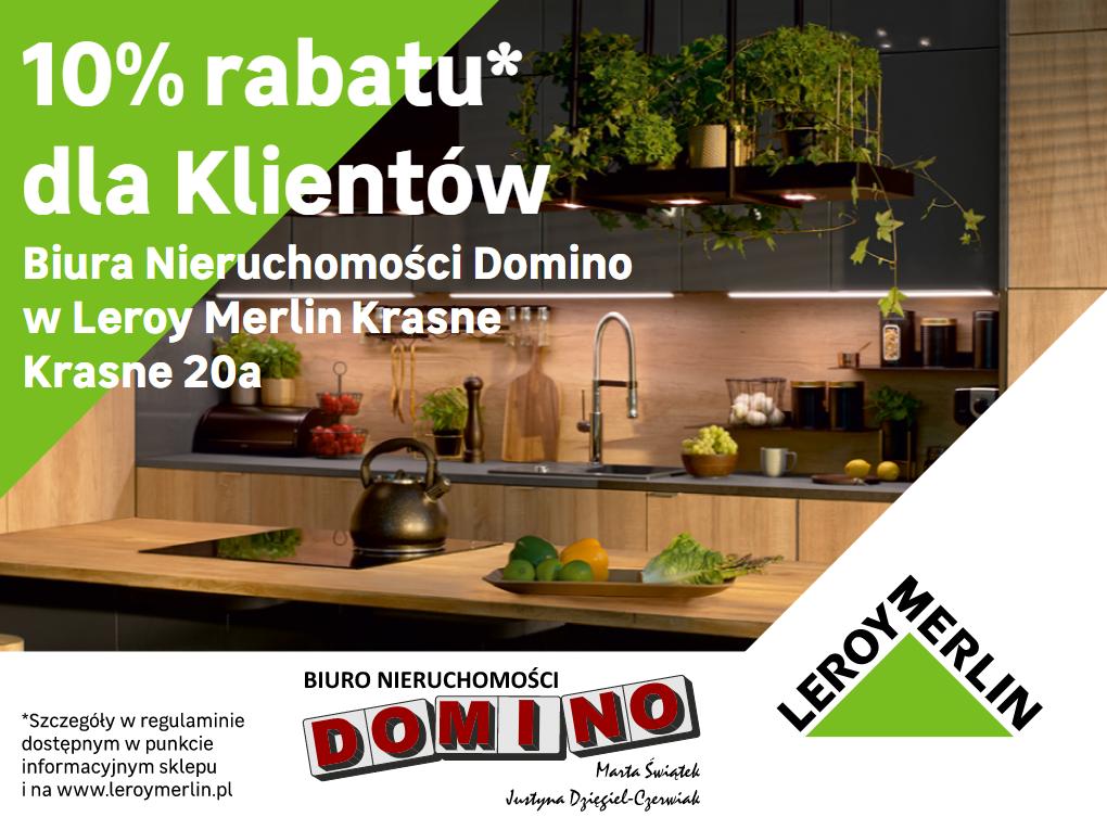 Baner na stronę internetową Biura Domino Stalowa Wola